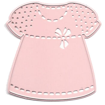 Joy! Crafts Cut & Emboss Die Baby Girl Dress