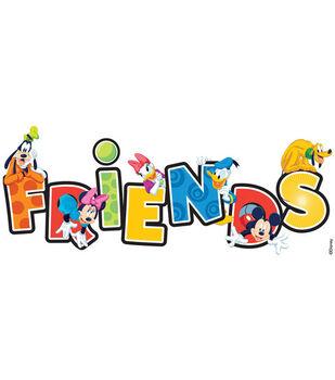 EK Success Disney Title Stickers-Mickey Friends