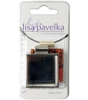 Lisa Pavelka Silver-Plated Bezel-1PK/Square