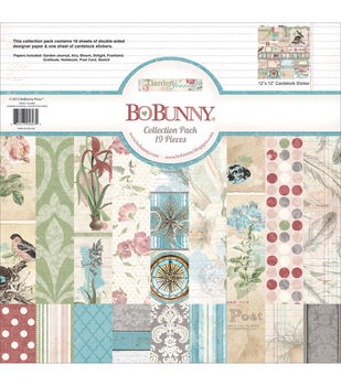 Bo-Bunny Garden Journal Collection Pack