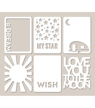 Jillibean Soup Star Light - Mini Placemat Cardstock