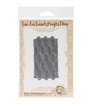 "La-La Land Die-Diamond Wire, 3.5""X1.75"""