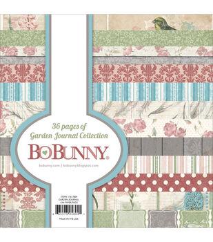 Bo-Bunny Garden Journal Paper Pad