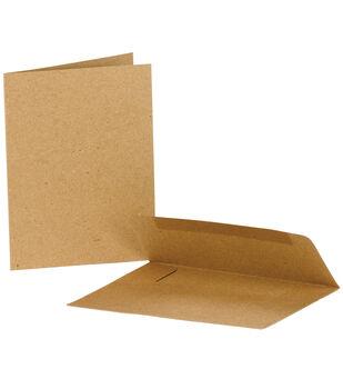 Canvas Corp Kraft 25Pk-Cards & Envs Vp4X5.5