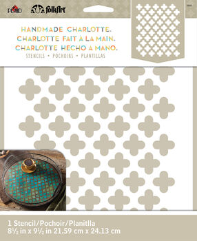 FolkArt ® Handmade Charlotte™ Stencils - Moorish Pattern
