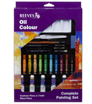 Reeves Oil Colour Complete Painting Set