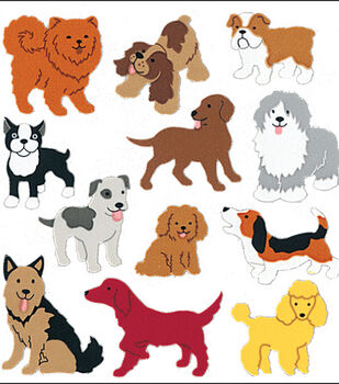 Sandylion Classpak Stickers-Dogs