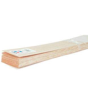 Midwest 36''x3/32''x3'' Balsa Wood Sheets-20PK