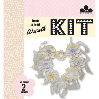 Craftwork Cards Create A Wreath Kit Congratulations