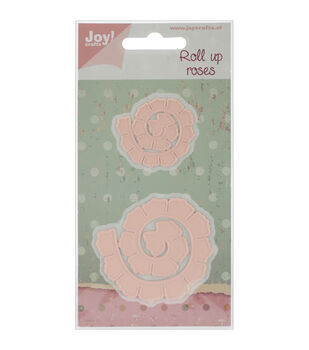 """Joy! Crafts Cutting Dies-Roll Up Roses Rounded, 1.5"""" To 2.25"""""""