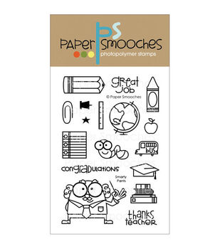 Paper Smooches Clear stamps Smarty Pants
