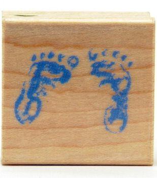 Hero Arts Baby Feet Small Stamp