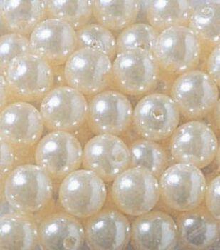 Darice® 8mm Round Pearls-360PK/White