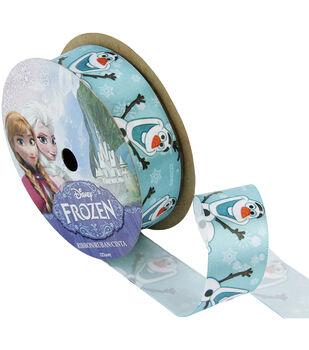 "Frozen Ribbon 7/8""x9'-Olaf"