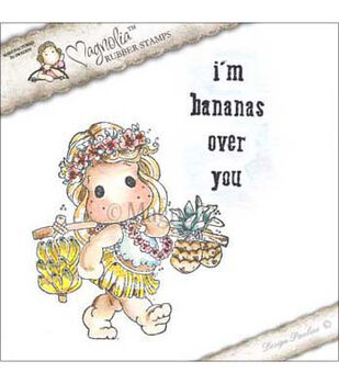 Magnolia Lovely Duo's I'm Bananas Over You Cling Stamp