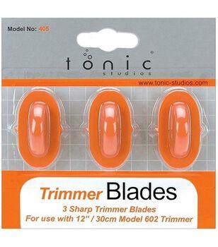 Trimmer Replacement V Blades 3/Pkg