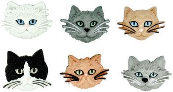 Dress It Up Embellishments-Fuzzy Felines