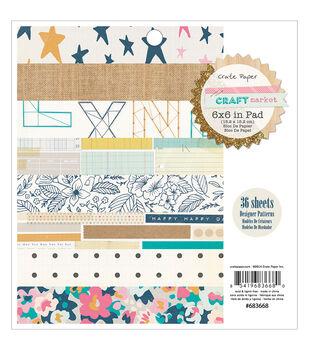 Crate Paper Craft Market Paper Pad
