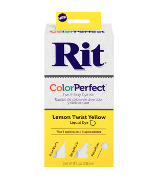 Rit ColorPerfect Dye Kit-Lemon Twist Yellow