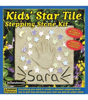 Kids' Star Tile Stepping Stone Kit
