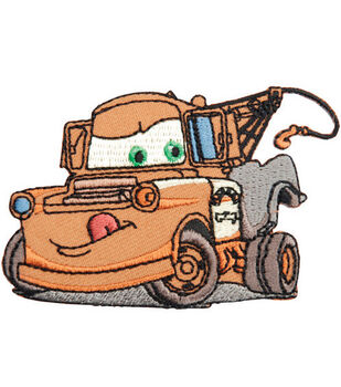 Wrights®  Disney Cars Iron-On Appliques-Tow Mater