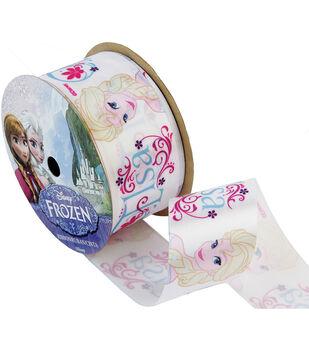 "Frozen Ribbon 1-1/2""x9'-Anna"