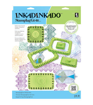 Inkadinkado Stamping Gear Deluxe Set-Square and Rectangle