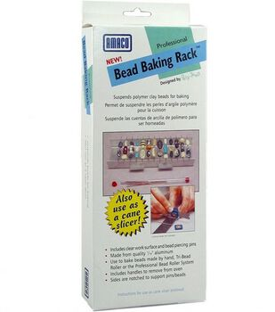 Bead Baking Rack With Bead Piercing Pins