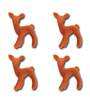 Maya Road Oh Deer Resin Charm Embellishments