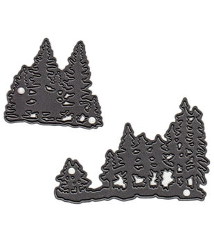 Marianne Design Tiny's Pine Trees Craftables Dies