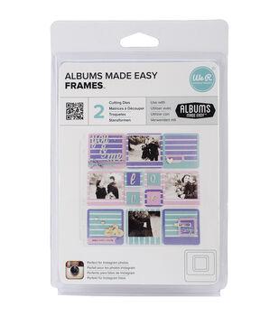 We R Memory keepers Albums Made Easy Frames Dies