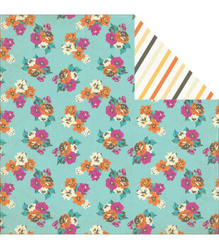 """Radiant Double-Sided Cardstock 12""""X12""""-Glorious"""