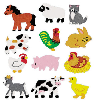 Sandylion Classpak Stickers-Farm Animals