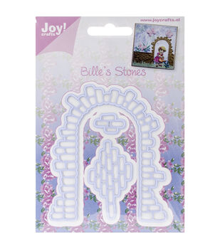 """Joy! Crafts Cut & Emboss Die-Belle's Stone Arch .625"""" To 2.25"""""""