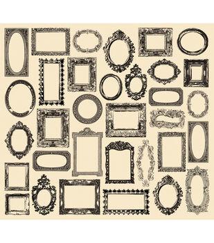 "Tissue Paper 20""X30"" 4/Pkg-Creme Frames"