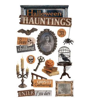 Halloween Haunting 3D Sticker