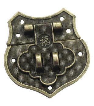FabScraps Brass Shield Catch Embellishments