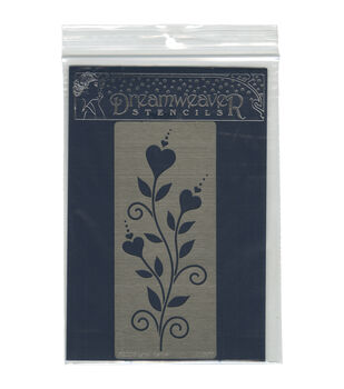 Stampendous Dreamweaver Metal Heart Whimsy Stencil