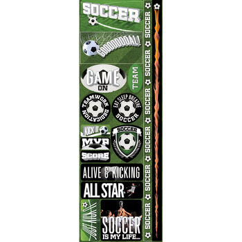Soccer Com-real Sport Stickers