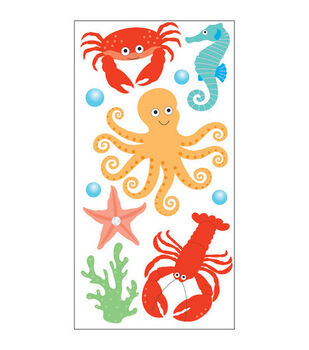 Sandylion Dimensional Stickers-Sea Creatures