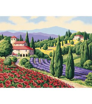 Dimensions Paint By Number Kit 14X11-Tuscan Scene