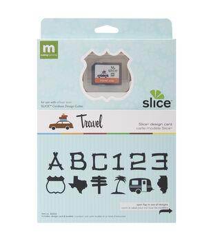 Making Memories Slice Design Card-Travel USA