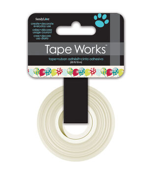"Tape Works Tape .625""X50'-Balloons"