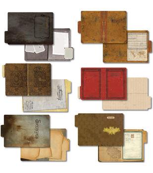 7 Gypsies Vintgage 6/Pk Serengeti Folders 4X6 inch