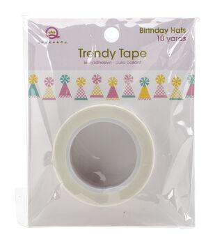 Queen & Co Birthday Hats Trendy Tape