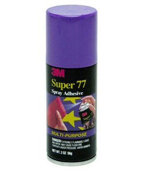 Super 77 Multi Prpose Spray Adhesive 4Oz