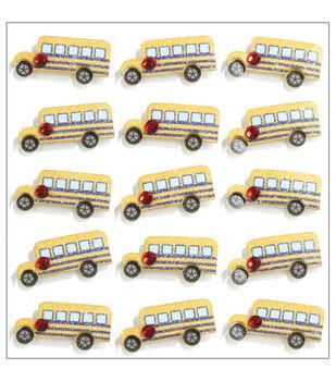 Jolee's Mini Repeats Stickers-School Bus
