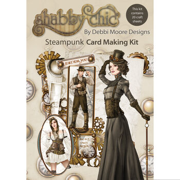 Debbi Moore Designs Shabby Chic Card Kit Steam punk
