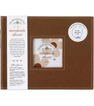 Doodlebug Storybook Album 8''x8''-Bon Bon