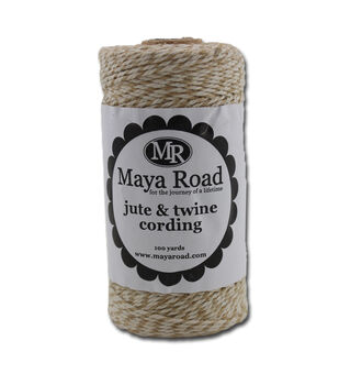 Maya Road Natural - Jute/Twine Cord 100 yds